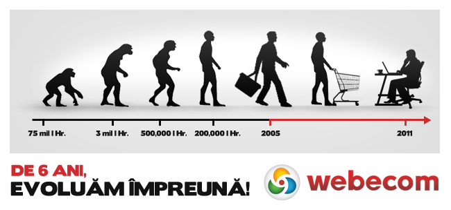 6 ani de comert online in Romania!