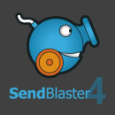 Aplicatie software pentru expeditie newsletter, Send Blaster PRO 4